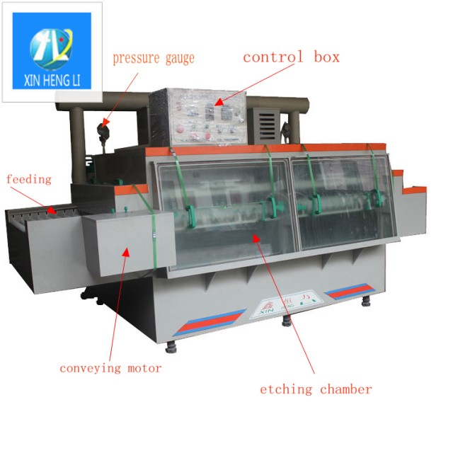 stainless steel chemical etching machine equipment