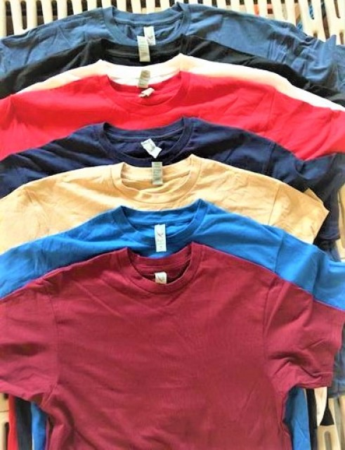 Half yearly special offer and discount on the best quality stock lot 100% Cotton 160 GSM Tee shirts S/S
