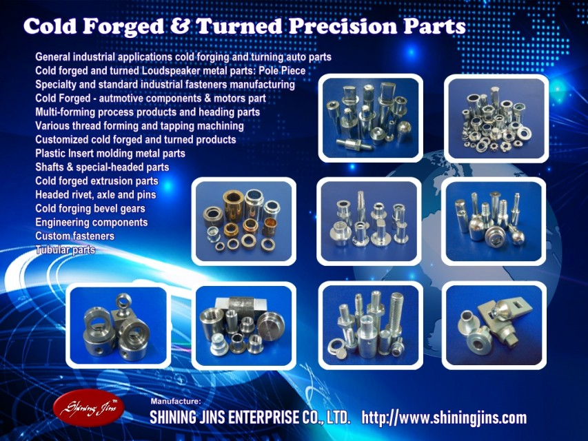 Cold forged & Precision turned parts