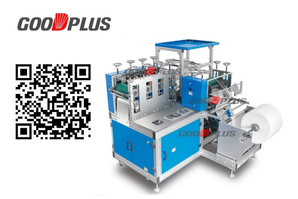 NON-WOVEN SHOES COVER MAKING MACHINE