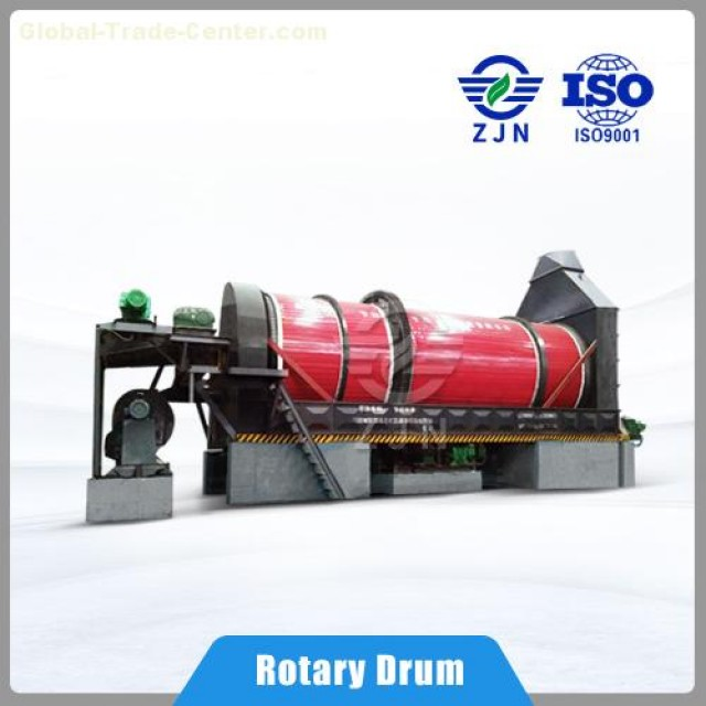 Finance a China ZJN rotary drum dryer and become a billionaire