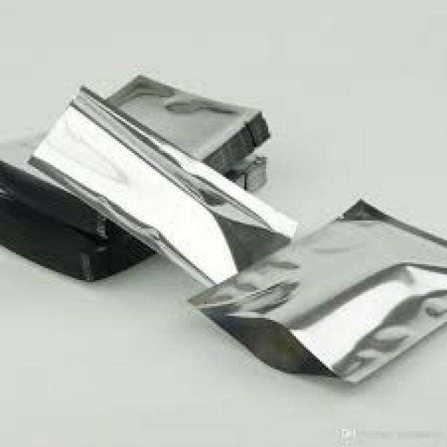 3 sided sealed aluminum bag