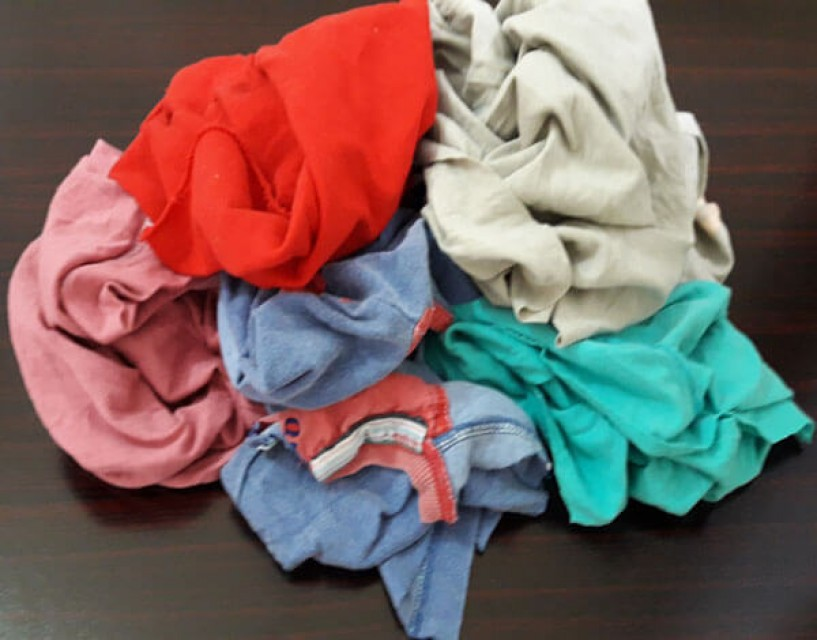 100% Cotton Hosiery Cutting Clips & Rags Supplier From Pakistan