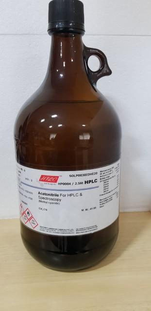 Acetonitrile, Methanol & Water HPLC Grade