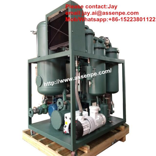 Advanced type High Vacuum Gas Turbine Oil Purification System