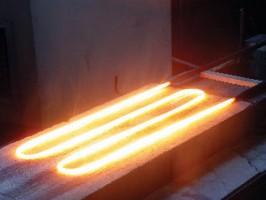Molybdenum disilicide heater