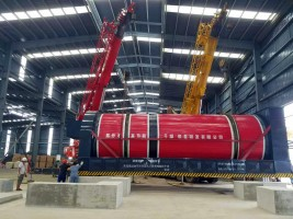rotary dryer to treat  100+ tons of corn vinasse,bagasse , cassava and manure a day