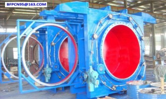 Open type electric gate valve
