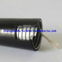 Liquid tight smooth PVC coated metal flexible conduit