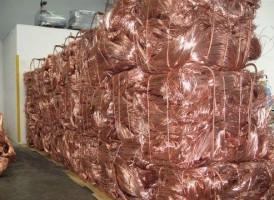 99.99%purity Copper wire Scrap