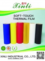 XinLi Soft touch thermal film/ velvet thermal film