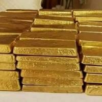 Au Gold Bar & Rough Diamond