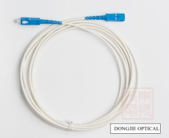 1F armored patch cord, optical fiber cable, patch cord assembly, blue LSZH