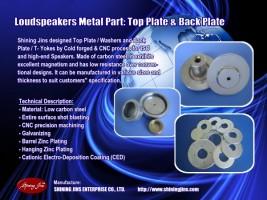 T-Yoke Washer Pot Back Plate